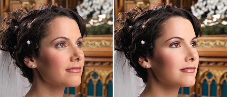 Wedding retouching.  sample image #0